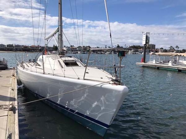 X-Yachts IMX38 Docked