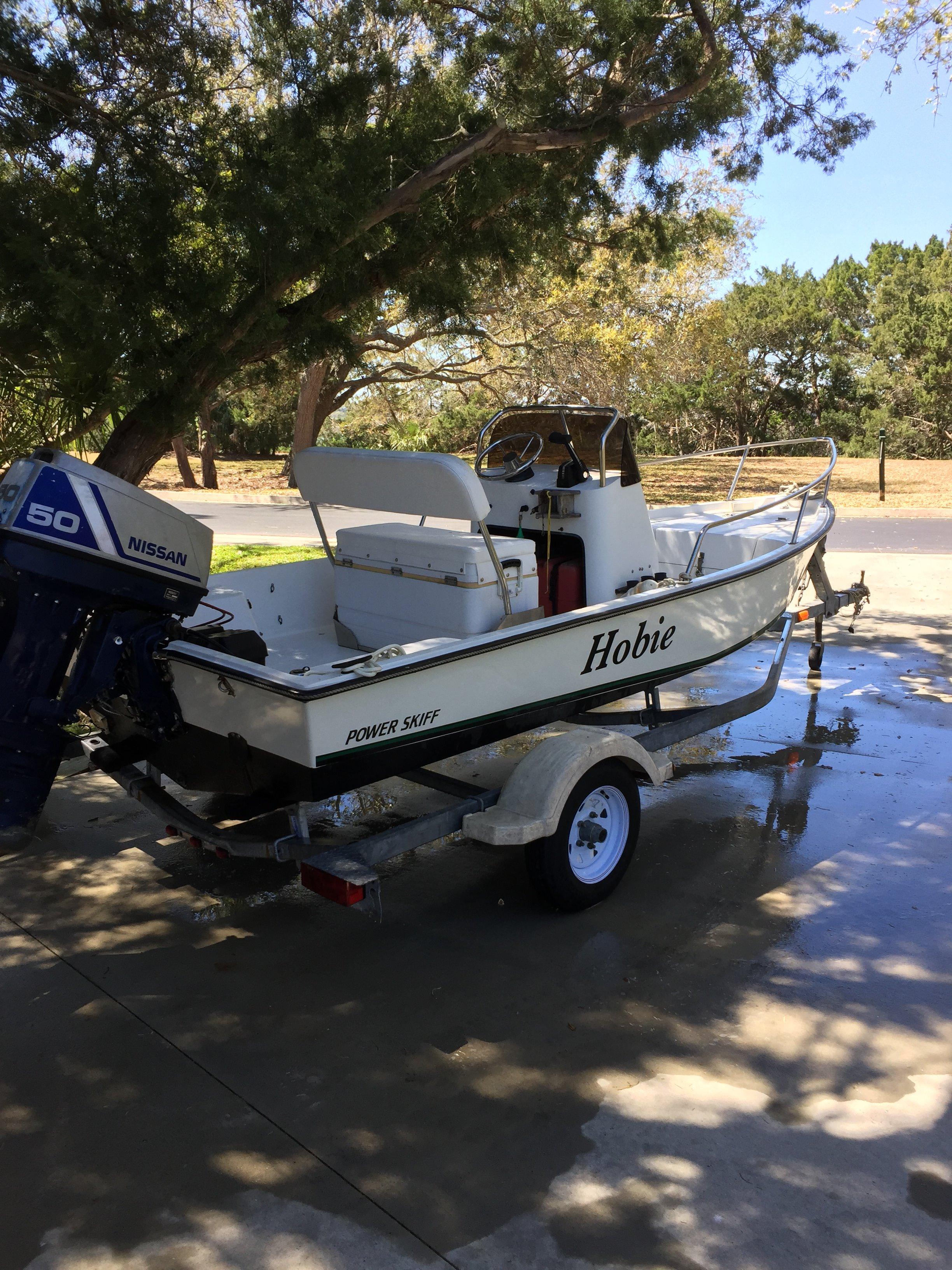 Hobie Power Boats Power Fisherman