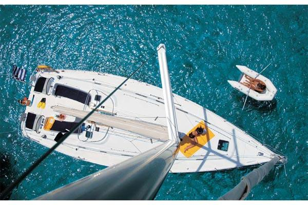 Beneteau Cyclades 39 Manufacturer Provided Image: Above