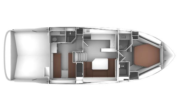 Bavaria S45 Coupe Two Cabin Layout