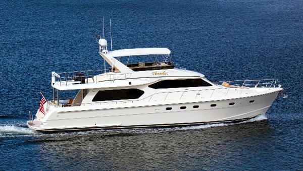 Hampton 68' Pilothouse Motoryacht