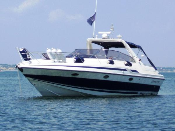 Sunseeker Martinique 36 At Anchor