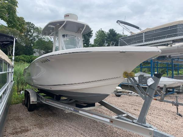 Tidewater 220 CC Adventure For Sale Used Tidewater 220 Adventurer Center Console Four Stroke Yamaha