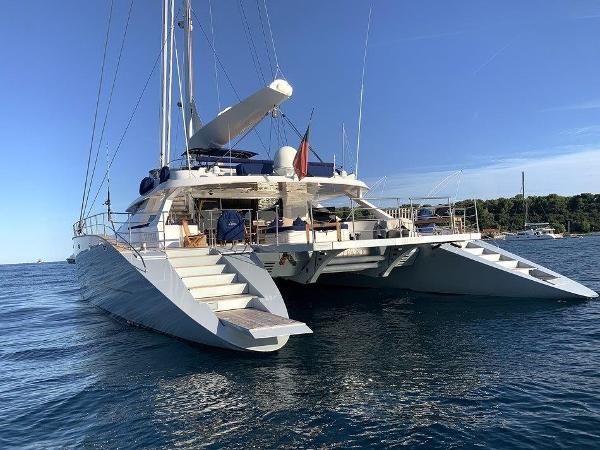 Custom Cuneo Marine 106 Custom Cuneo Marine 106' sailing catamaran