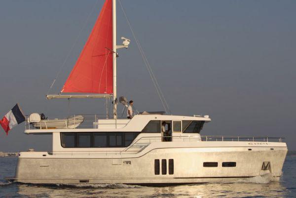 Starboard Profile w/Sail