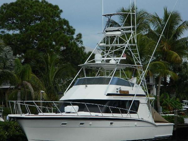 Hatteras 52 Sport Fisherman Profile