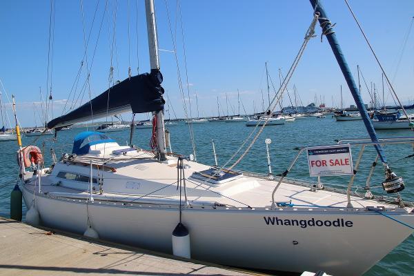 Sigma 33 OOD Sigma 33 on her berth
