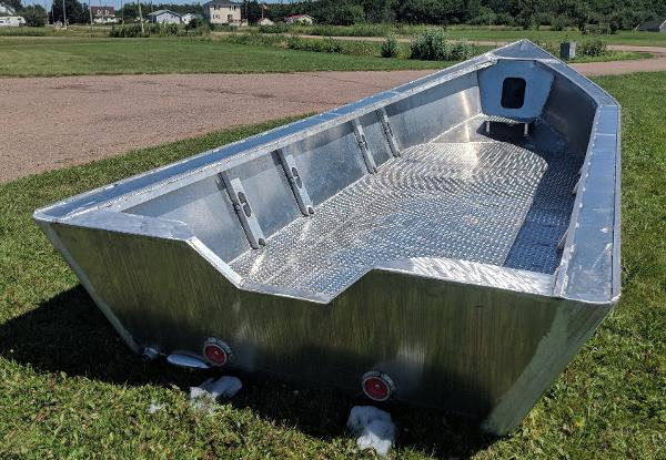 Commercial 21' x 8' Alum Dory/Work Boat