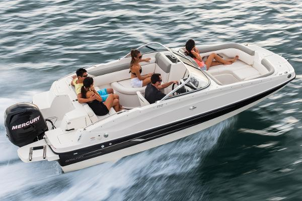 Bayliner 190 Deck Boat Manufacturer Provided Image