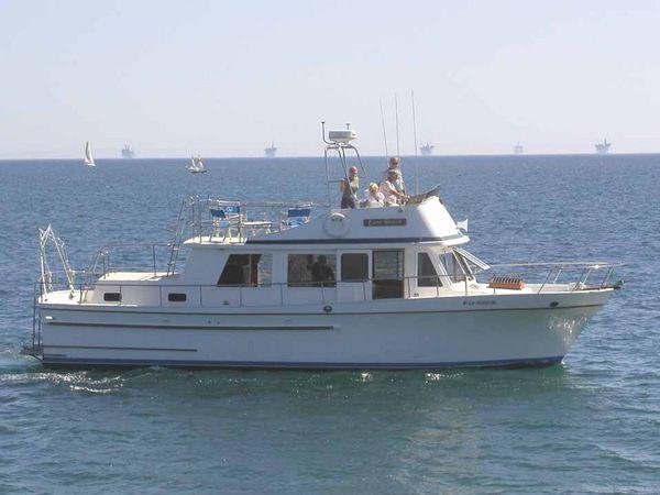 "CHB PT ""Casa Blanca"" 3-cabin CHB Trawler"