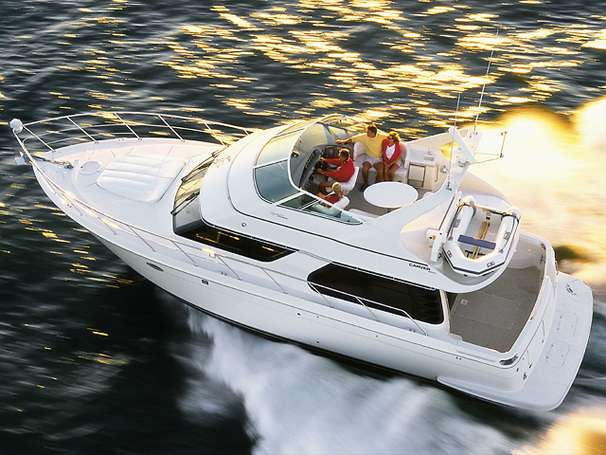 Carver 450 Voyager Pilothouse Manufacturer Provided Image