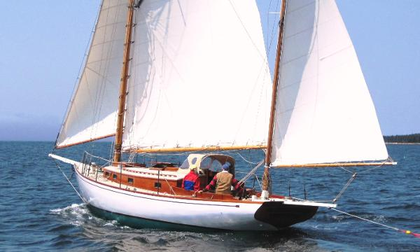 Crocker Gaff Rigged Yawl EMILY MARSHALL