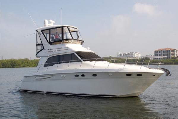 Sea Ray 480 Sedan Bridge Profile