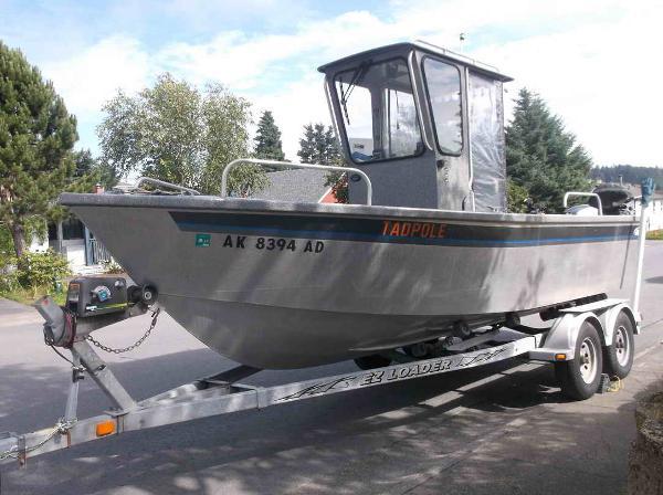 Aluminum Alaska Fishing Boat - Almar Sounder