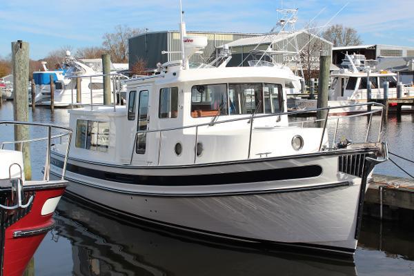 Nordic Tugs 34 Hull profile