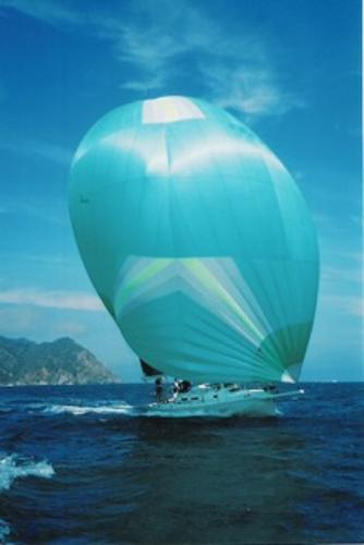 J Boats J/120 Flying spinnaker