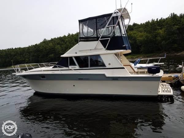 Silverton 34 Convertible 1987 Silverton 34 Convertible for sale in Amesbury, MA
