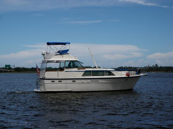 Hatteras Flybridge Double Cabin