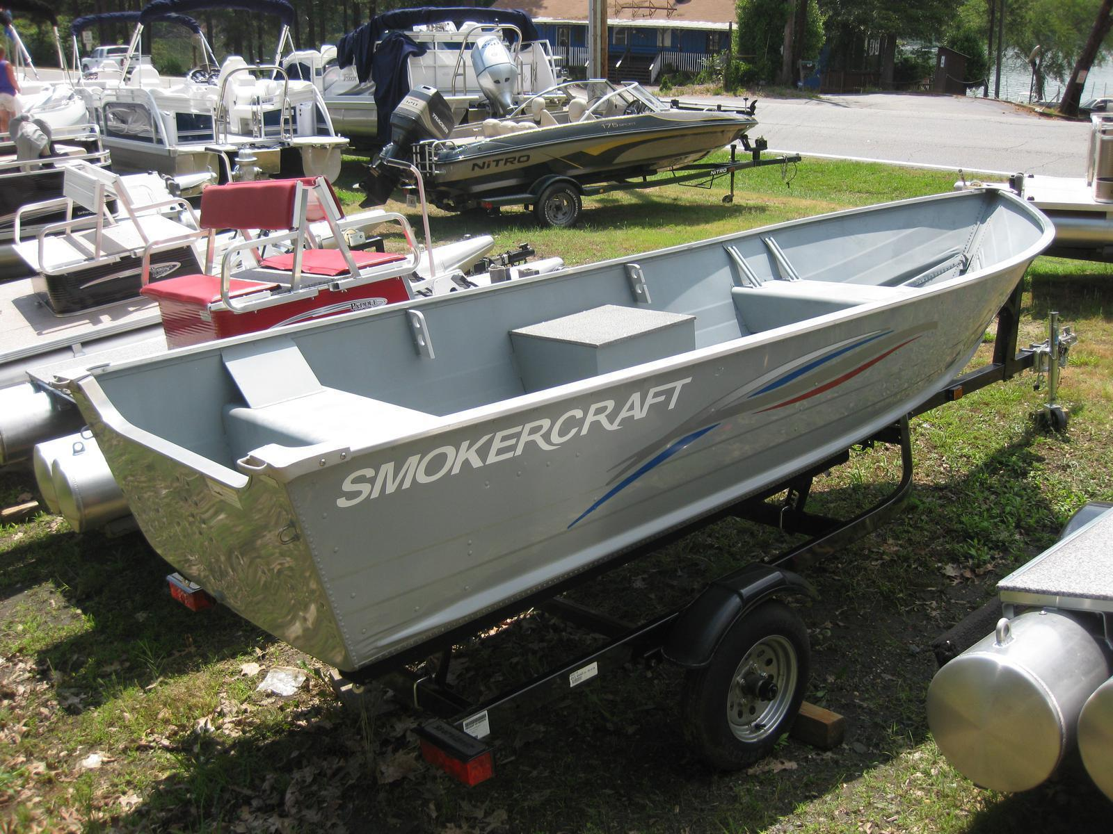 smoker craft 15 alaskan dlx boats for sale