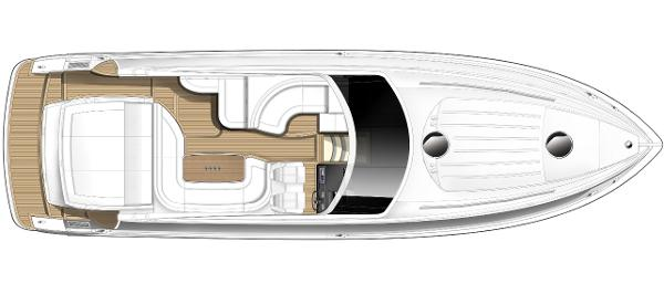 Princess V45 Deck Layout