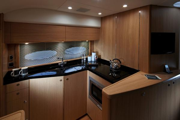 Princess V45 Galley