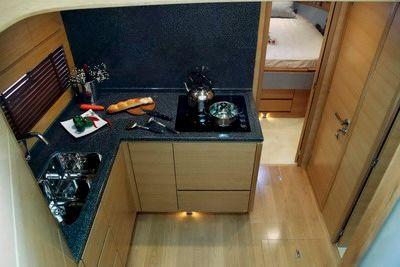 Hansheng Yachts Gallop 53 Galley