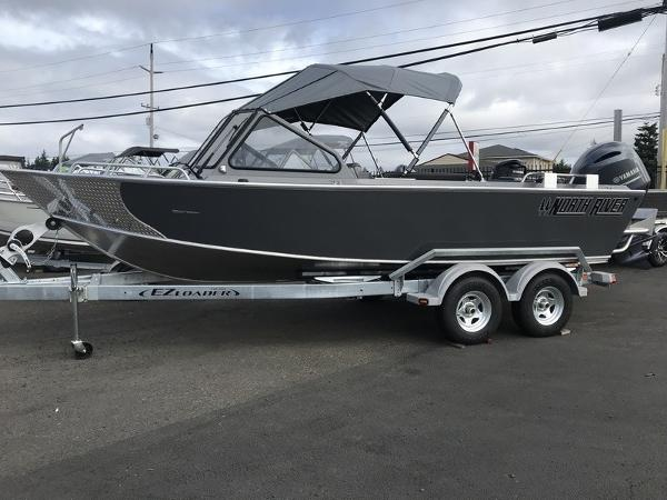 North River Seahawk Outboard 20'