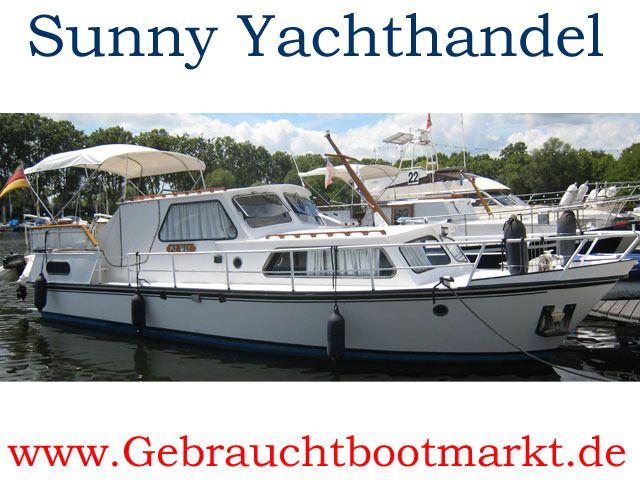 Stahl Motorboot Verdrnger Blue Dart 1130