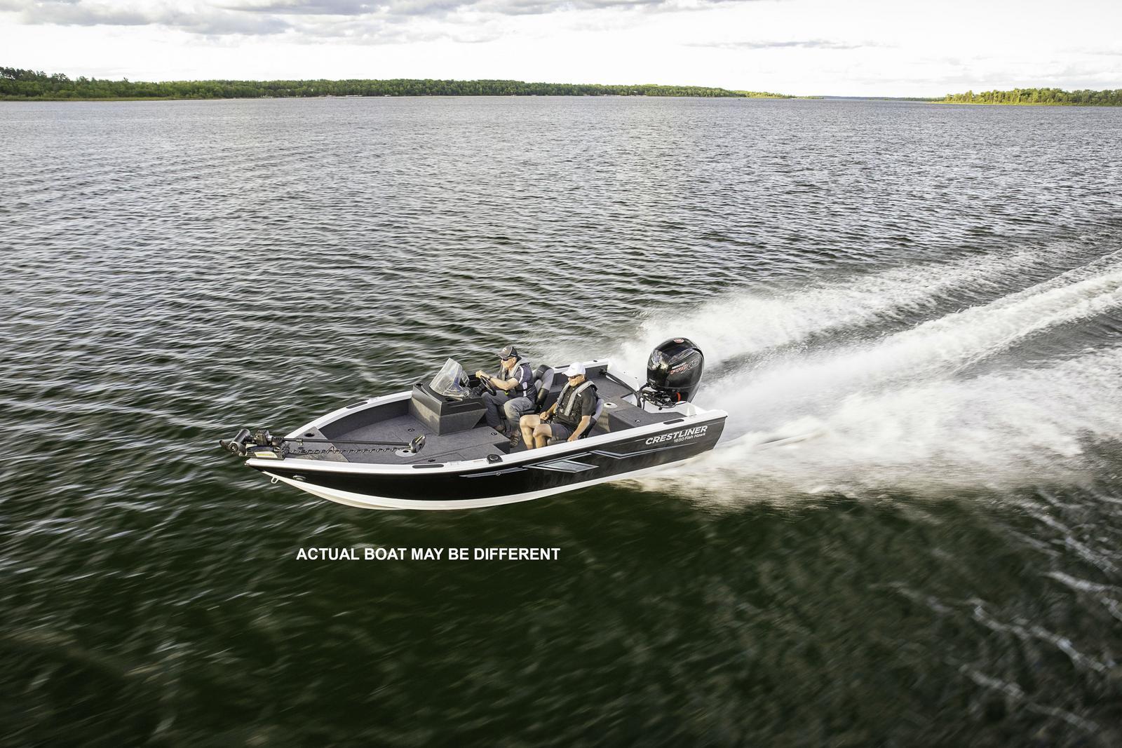 Crestliner 1650 Fish Hawk WT