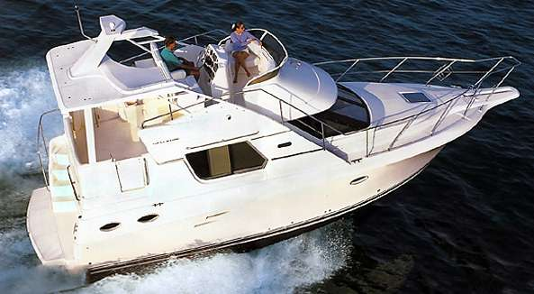 Silverton 322 Motor Yacht Manufacturer Provided Image