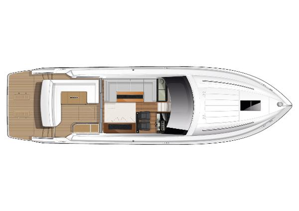 Princess V52 Deck Layout