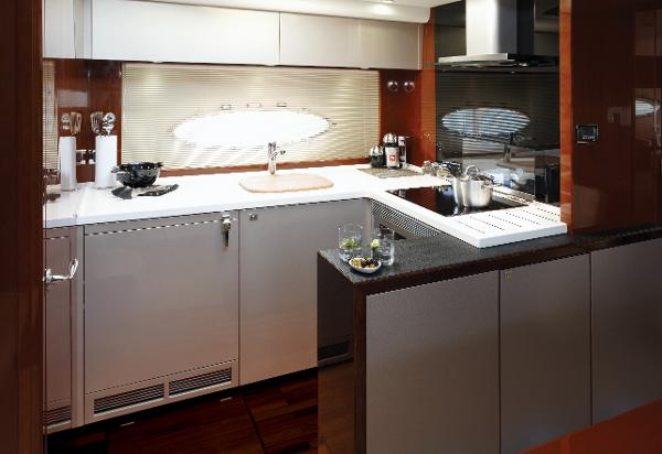 Princess V52 Galley