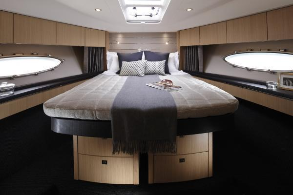 Princess V57 Forward Cabin