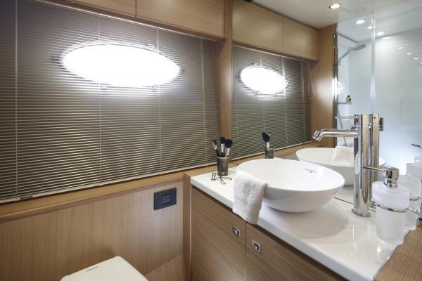 Princess V57 Master Stateroom Bathroom