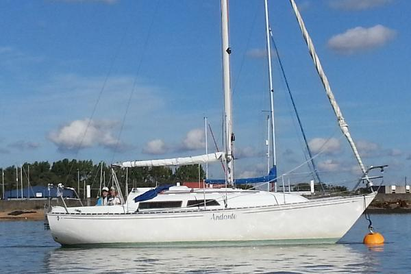 Trapper 501 On mooring