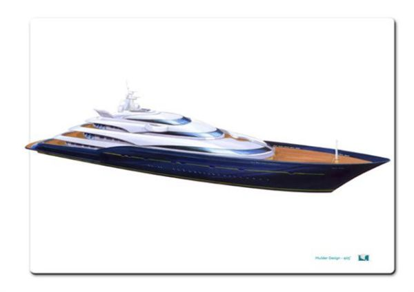 Mulder Design P967 405' Motor Yacht Photo 1