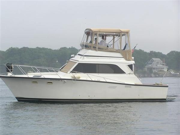 Egg Harbor Flybridge 1982 Egg Harbor 36' Flying Bridge Sedan