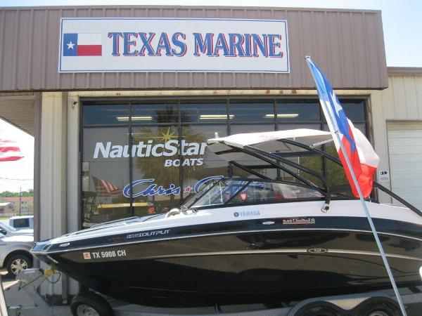 Yamaha Boats 242 Limited S With Galvanized Trailer