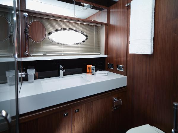 Princess V62-S Owner's Stateroom Bathroom