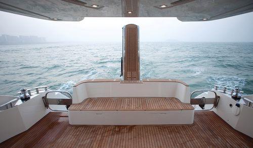 Hansheng Yachts Gallop 62.8 Cockpit