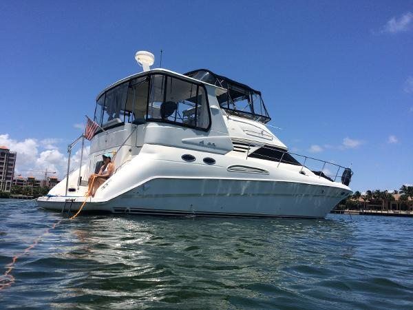 Sea Ray 420 Aft Cabin On Water