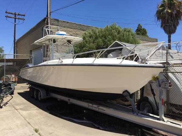 Marlin 350 Sport Fish Marlin and trailer