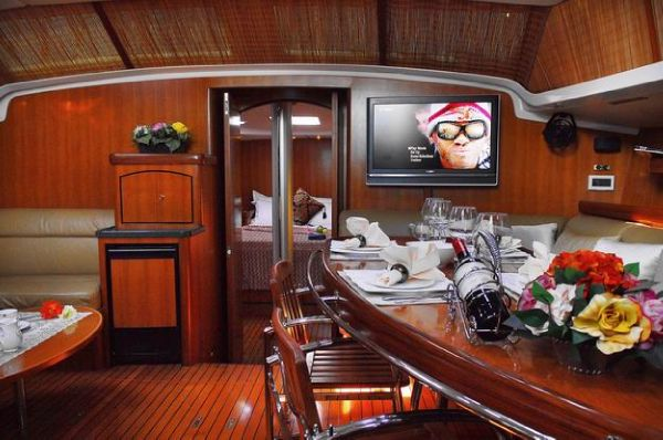 Steven Custom 53/56 Sailing Boat Galley