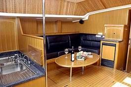 Steven Custom 53/56 Sailing Boat Dining
