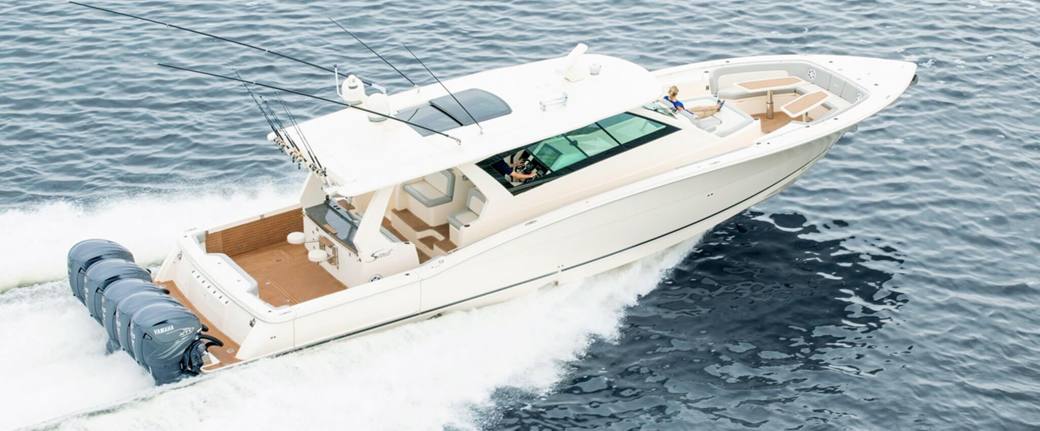 Scout 530 LXF 2020 Scout 530 LXF - Seven Seas Yacht Sales, Inc.