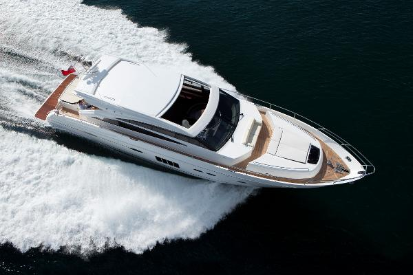 Princess V72 Aerial Shot