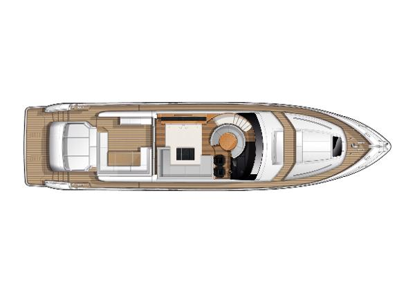 Princess V72 Deck Layout