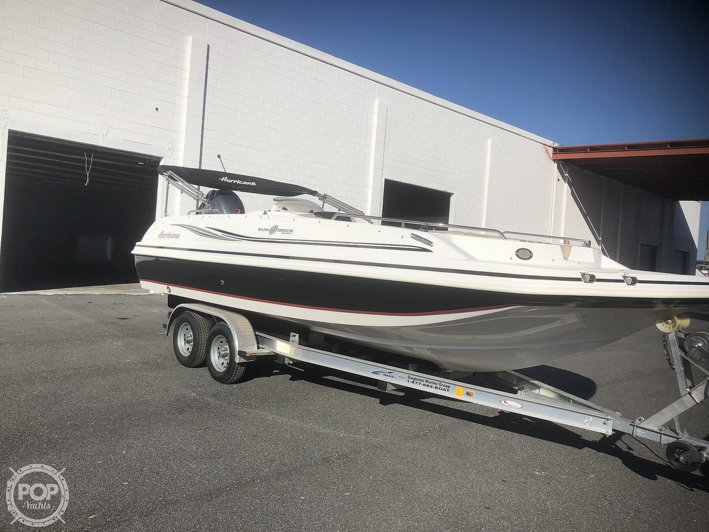 Hurricane 201 Sun Deck Sport 2015 Hurricane 201 Sun Deck Sport for sale in Wildwood, FL