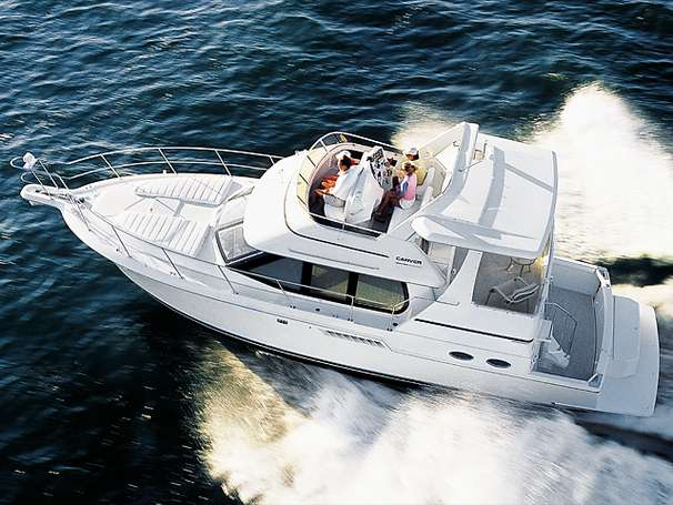 Carver 404 Cockpit Motor Yacht Manufacturer Provided Image