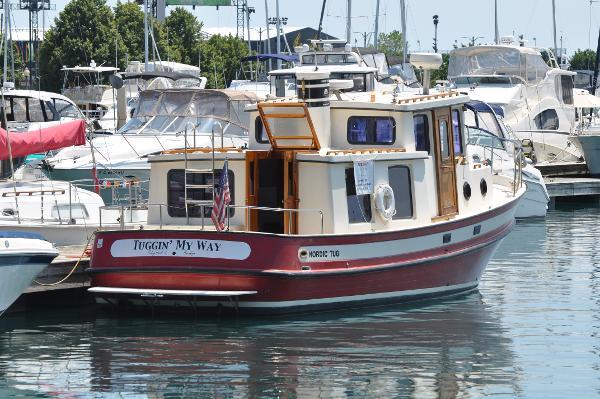 Nordic Tugs 32 Starboard Profile 1